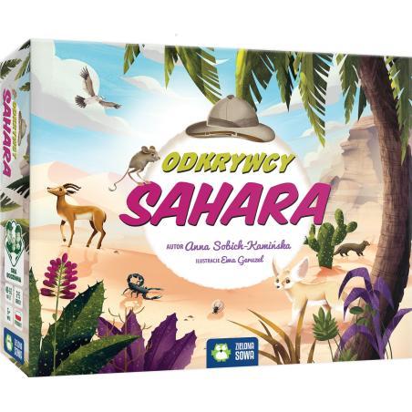 ODKRYWCY SAHARA GRA PLANSZOWA 6+