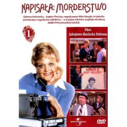 NAPISAŁA: MORDERSTWO 01: ZABÓJSTWO SHERLOCKA HOLMESA (PILOT) DVD PL