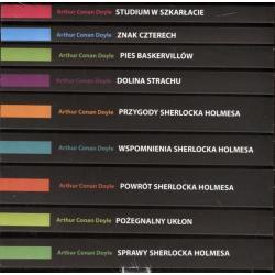 SHERLOCK HOLMES PAKIET 9 TOMÓW W ETUI Conan Doyle Arthur