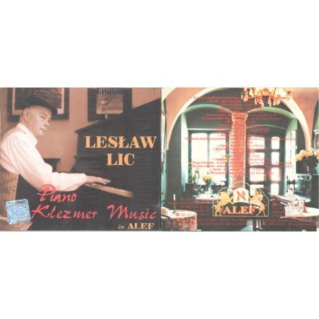 LESŁAW LIC PIANO KLEZMER MUSIC IN ALEF CD