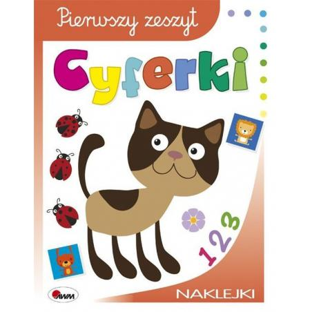 CYFERKI PIERWSZY ZESZYT Jolanta Czarnecka 3+