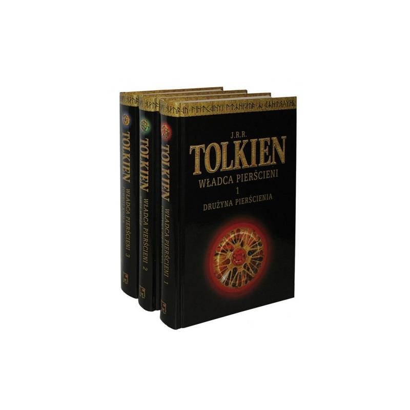 WŁADCA PIERŚCIENI (3 TOMY) Tolkien J.R.R.