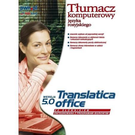 TRANSLATICA OFFICE TŁUMACZ KOMPUTEROWY JĘZYKA ROSYJSKIEGO