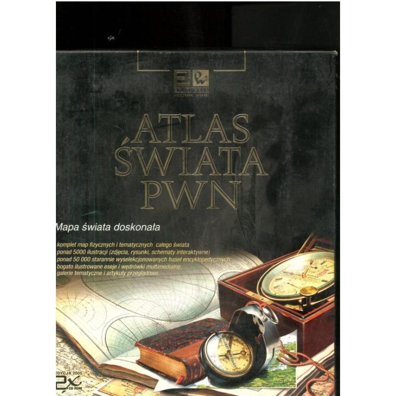 ATLAS ŚWIATA PWN CD-ROM