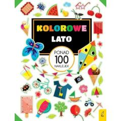 KOLOROWE LATO PONAD 100 NAKLEJEK