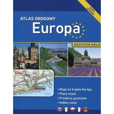 ATLAS DROGOWY EUROPA WSZYSTKIE KRAJE
