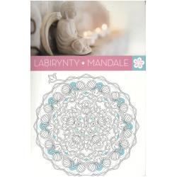 ART ANTI STRESS LABIRYNTY MANDALE