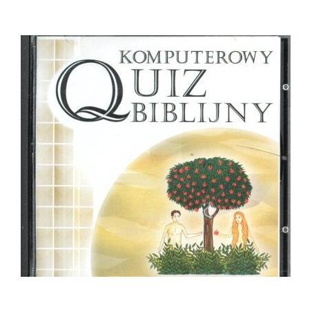 KOMPUTEROWY QUIZ BIBLIJNY CD-ROM