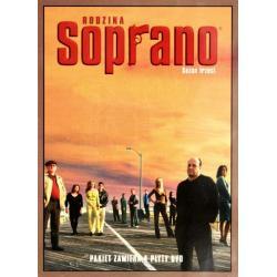 RODZINA SOPRANO SEZON 3 4 X DVD