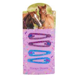 SPINKI DO WŁOSÓW HORSES DREAMS  4 SZT