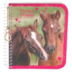 NOTES SPIRALNY HORSES DREAMS 13,5 X 12,5 CM
