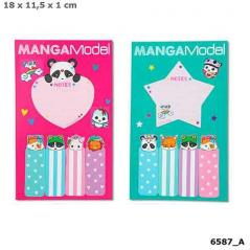 KARTECZKI SAMOPRZYLEPNE MANGA MODEL 18 X 11,5 CM