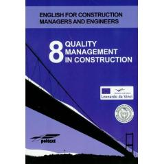 8 QUALITY MANAGEMENT IN CONSTRUCTION + CD