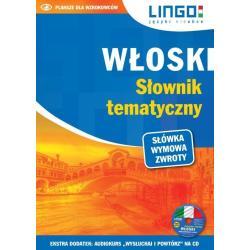 WŁOSKI SŁOWNIK TEMATYCZNY KSIĄŻKA + CD Nowaczewska Magdalena