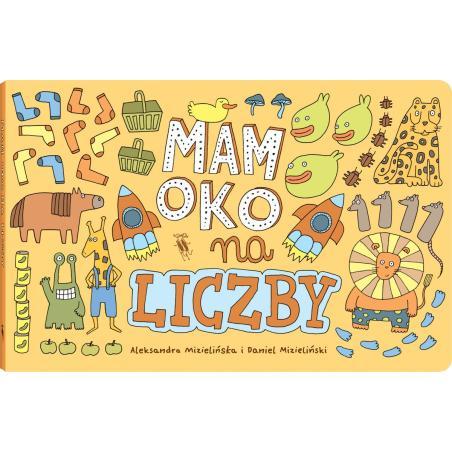 MAM OKO NA LICZBY 3+  Aleksandra i Daniel Mizielińscy