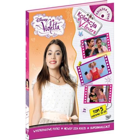 VIOLETTA V-LOVERS ODCINKI 21-25 DVD PL