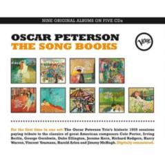 OSCAR PETERSON THE SONG BOOKS 5CD