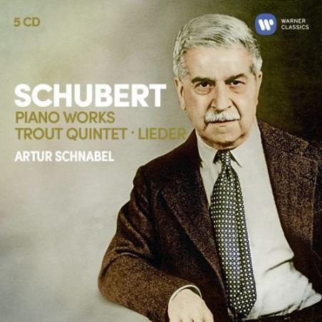 SCHUBERT 3 SONATAS 5CD
