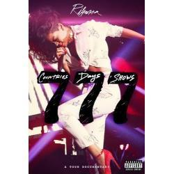 RIHANNA 777 A TOUR DOCUMENTARY DVD