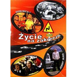 PAKIET ŻYCIE NA ZAKRĘCIE 4 X DVD PL