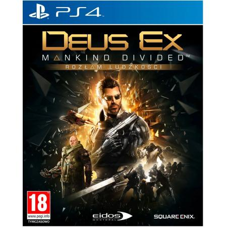 DEUS EX: ROZŁAM LUDZKOŚCI PS4