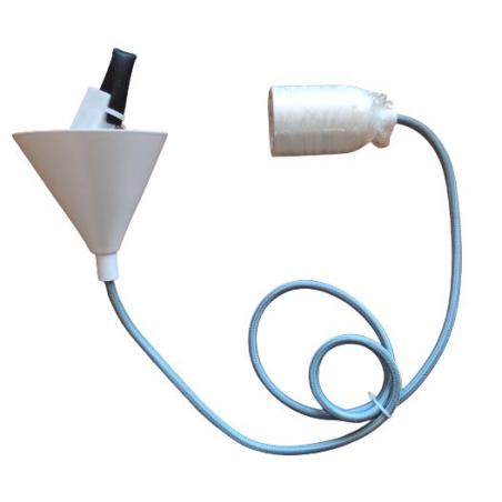 OZDOBNA LAMPA SUFITOWA CZARNA
