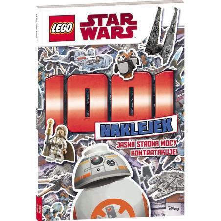 LEGO STAR WARS 1001 NAKLEJEK JASNA STRONA MOCY KONTRATAKUJE !