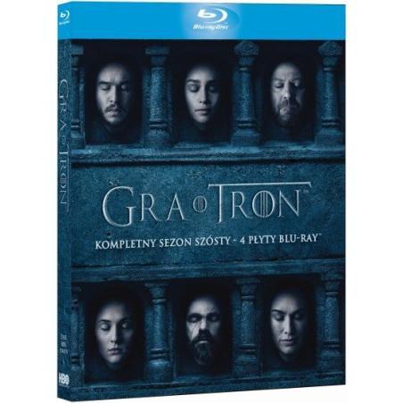 GRA O TRON. SEZON 6 4 X BLURAY PL