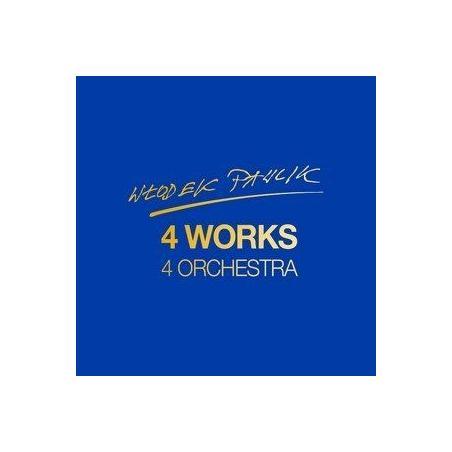 WŁODEK PAWLIK 4 WORKS 4 ORCHESTRA 2 CD