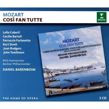 MOZART COSI FAN TUTTE 3 CD