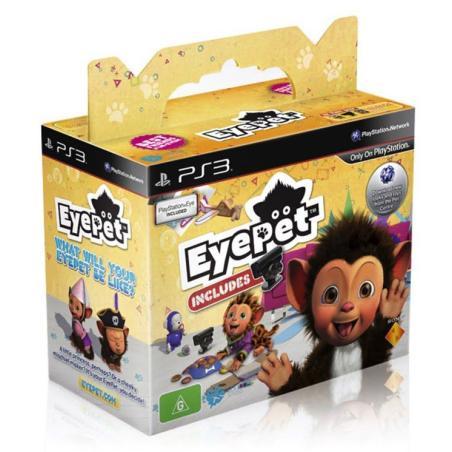 EYEPET PL + KAMERA PLYSTATION EYE PS3