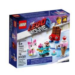 NAJLEPSI PRZYJACIELE KICI ROŻEK LEGO MOVIE 2 70822