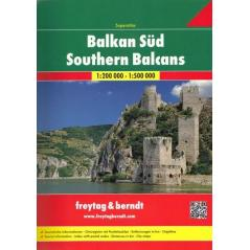 SOUTHERN BALCANS ATLAS 1:200 000 / 1:500 000