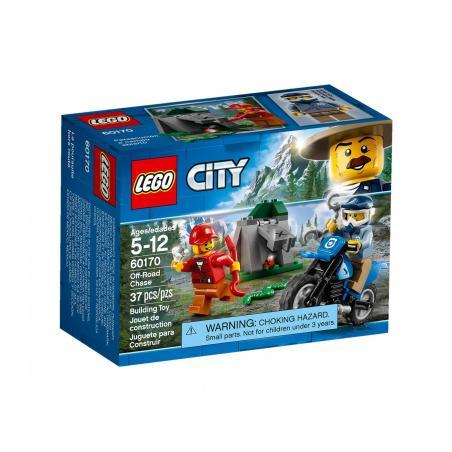 POŚCIG ZA TERENÓWKĄ LEGO CITY 60170