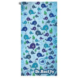 DR. BACTY RĘCZNIK SZYBKOSCHNĄCY WIELORYB 70 X140 CM