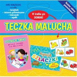 TECZKA MALUCHA + GRA DOMINO