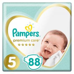 PIELUCHY PAMPERS PREMIUM CARE ROZMIAR 5 88SZT 11-16KG