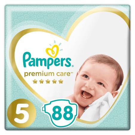 PIELUCHY PAMPERS PREMIUM CARE ROZMIAR 5 88 SZT 11-16KG