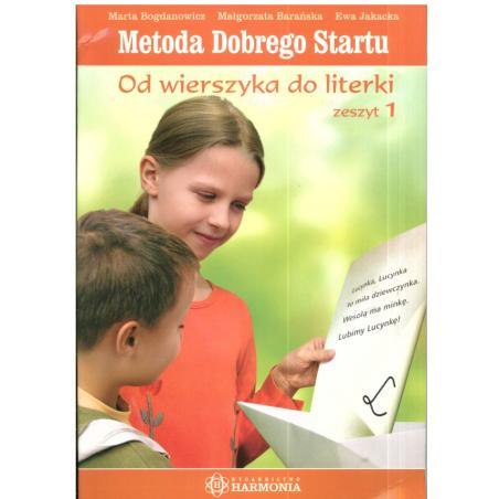 METODA DOBREGO STARTU OD WIERSZA DO LITERKI 1