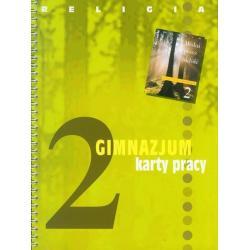 RELIGIA GIMN KL.2 KARTY PRACY Jackowiak, Danuta