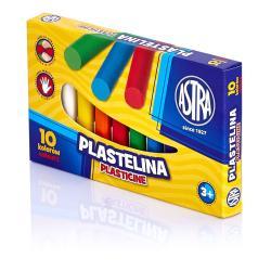PLASTELINA 10 KOLORÓW ASTRA