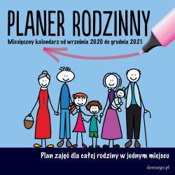 KALENDARZ ŚCIENNY 2021 PLANER RODZINNY
