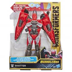 FIGURKA TRANSFORMERS MISSION VISION BUMBLEBEE SHATTER 6+