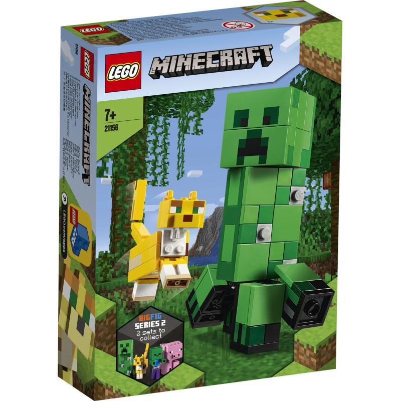 BIGFIG CREEPER I OCELOT LEGO MINECRAFT 21156