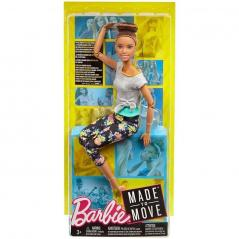 LALKA BARBIE MADE TO MOVE 3+