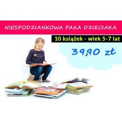 NIESPODZIANKOWA PAKA DLA DZIECIAKA 10 KSIĄŻEK 5-7 LAT Z WYD. MUZA