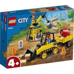 BULDOŻER BUDOWLANY LEGO CITY 60252