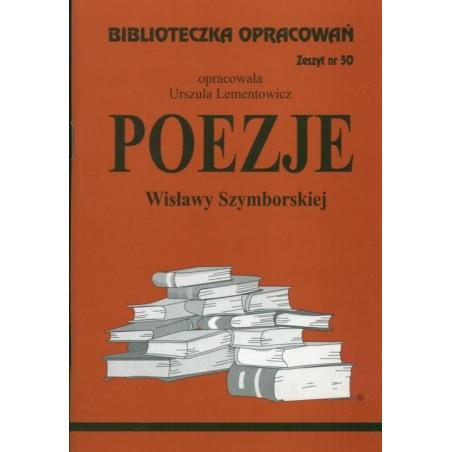BIBLIOTECZKA OPRACOWAŃ 50. POEZJE Lementowicz Urszula