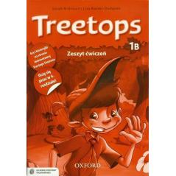 JĘZYK ANGIELSKI TREETOPS 1B ĆWICZENIA +CD Lisa Kester-Dodgson