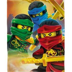KOC POLAROWY LEGO NINJAGO 100 X 150 CM
